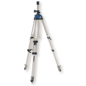 Aluminium telescopic tripod with crank drive, 0.8 - 2.65 m